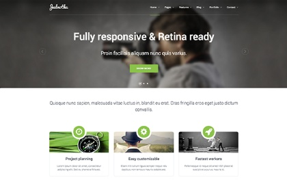Jednotka - Responsive Website Template
