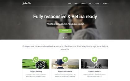 Jednotka - Responsive Website Template