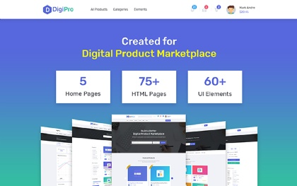DigiPro - Digital Marketplace
