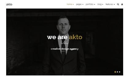 Akto - Multipurpose Website Template