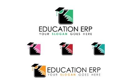 Education Erp Logo Template