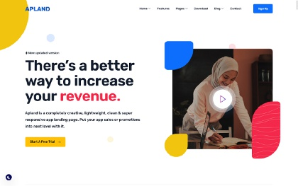 Apland - App Landing Page Template