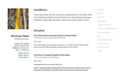 Resume examples Resume and Editor on Pinterest BNUv oXF Etsy