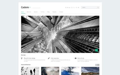 Cadem - Responsive HTML5 Template
