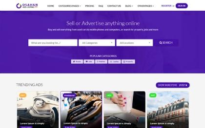 Osahan - Ads Listing Template