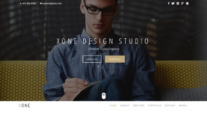 Xone - Minimal Portfolio | Bootstrap4