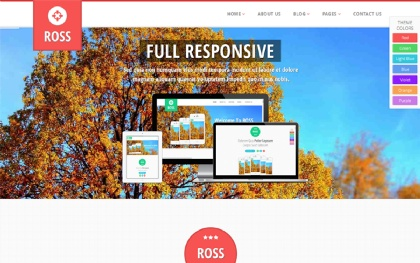 ROSS - Multi Purpose Parallax Theme