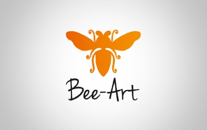 Bee-Art Animal Logo