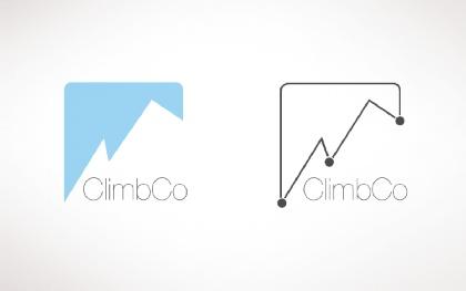 ClimbCo admin style simple logo