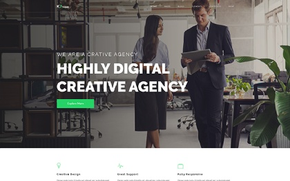 K7 - 30+ Responsive Website Template