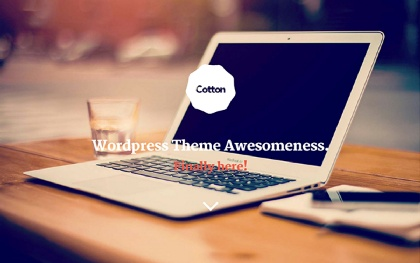 Cotton WordPress