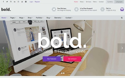 Bold - Multipurpose Template