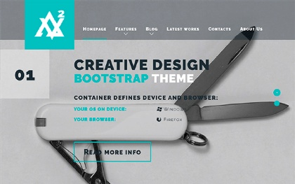 Avellio - Creative Bootstrap Theme