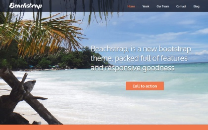Beachstrap One Page Parallax Template