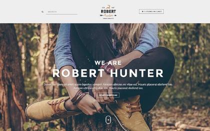 Hunter - Hipster E-Commerce Theme