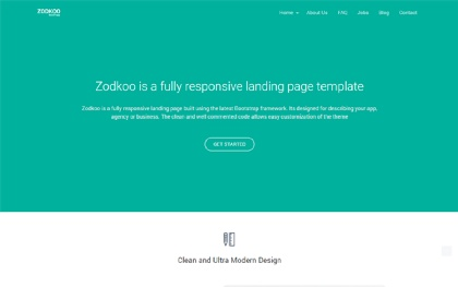 Zodkoo - Responsive WordPress Theme