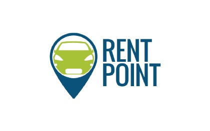 Rent Point - Rent a Car Logo