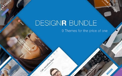 DesignR - One Page Personal Portfolio