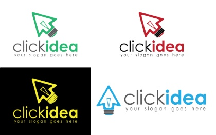 Click Idea Logo Template