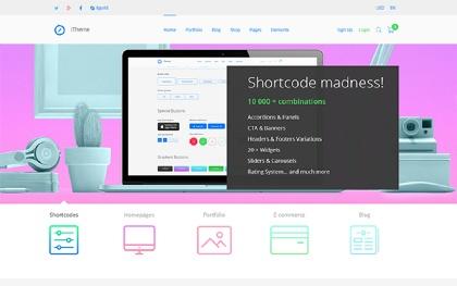 iTheme - Multipurpose HTML5 Template