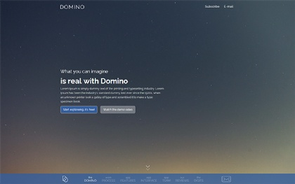 DOMINO - Clean WordPress Business Theme