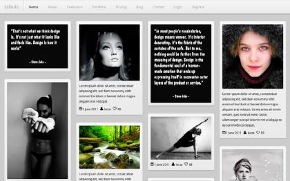 Tabula Portfolio Bootstrap Template