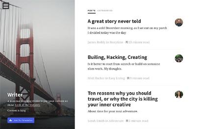 Writer - Modern Writing Platform