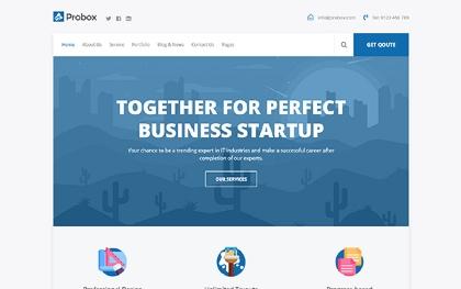 Probox - Startup Business Template