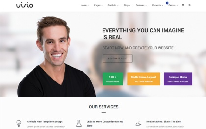Visio - Responsive Website Template