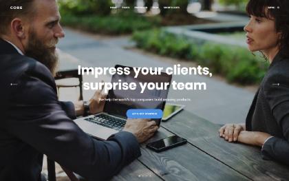 Core - MultiPurpose WordPress Theme