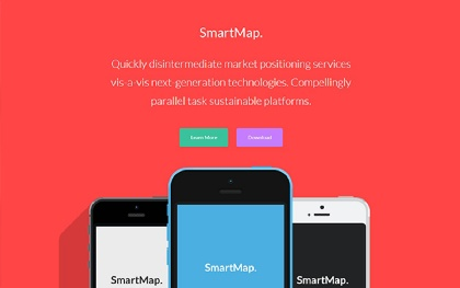SmartMap - Multi-Page Landing Page
