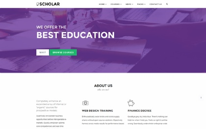 Scholar - Flexible Education Template