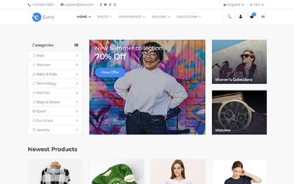 Plus - Responsive E-Commerce Template