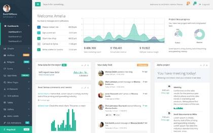 Inspinia - Responsive Admin Template Screenshot