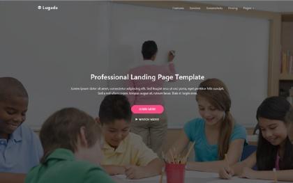 Lugada - Multipurpose Landing Page Template