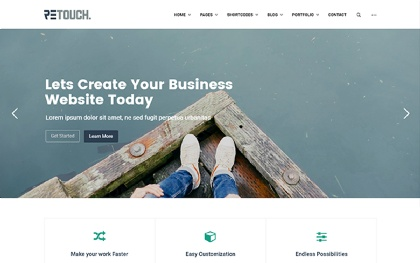 ReTouch - Multi-Purpose Bootstrap Theme