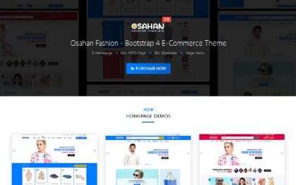 Osahan Fashion - Bootstrap 4 Template