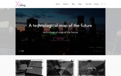 Xblog - Multipurpose Blogging Template