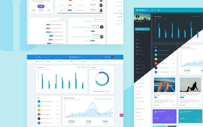 MaterialPro Admin + Angular 5 StarterKit