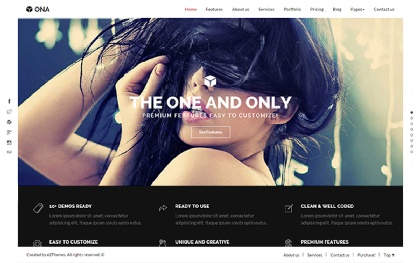 Ona - Creative Multipurpose Template