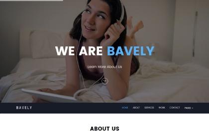Bavely - Agency & Portfolio Template