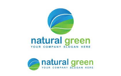Natural Green Logo Template
