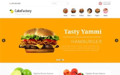 Cakefactory - Bootstrap Restaurant Theme