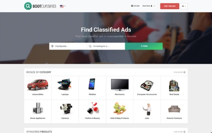 Bootclassified - Classified Theme