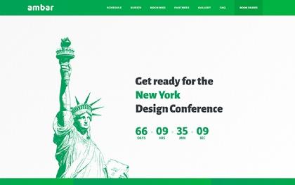 Ambar - Bootstrap Landing Page Template