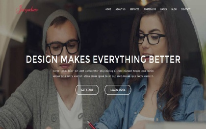 Jacqueline - Responsive HTML5 Template